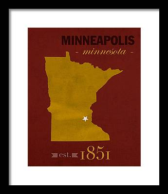 University Of Minnesota Framed Prints