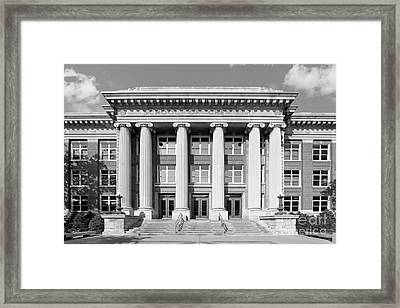 University Of Minnesota Smith Hall Framed Print by University Icons