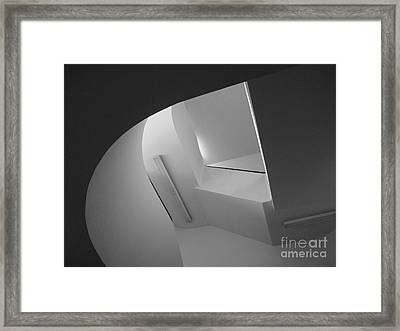 University Of Minnesota Stairwell Framed Print by University Icons