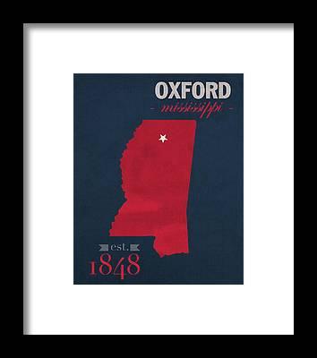 University Of Oxford Framed Prints