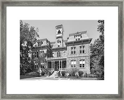 University Of Nevada Reno - Morrill Hall Framed Print