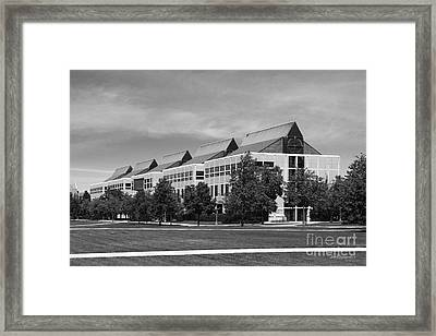 University Of Notre Dame De Bartolo Hall Framed Print by University Icons