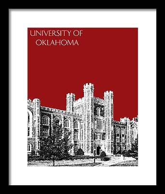 Oklahoma University Framed Prints