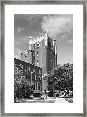 University Of Oklahoma Union Framed Print