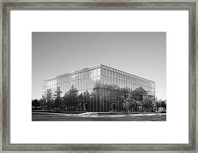 University Of Oregon Jacqua Center Framed Print by University Icons