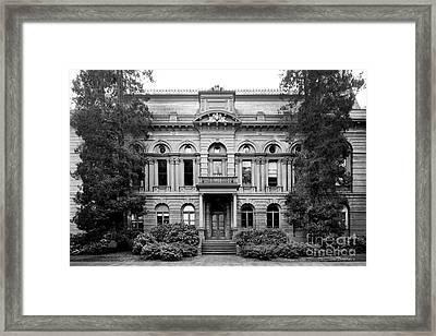 University Of Oregon Villard Hall Framed Print
