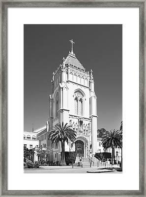 University Of San Francisco Lone Mountain Tower Framed Print