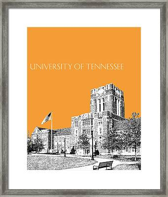 University Of Tennessee - Orange Framed Print