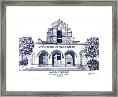 University Of Tennessee Framed Print by Frederic Kohli