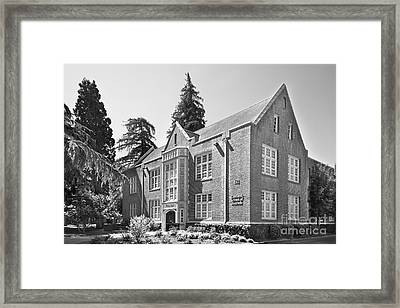 University Of The Pacific - Eberhardt School Of Business Framed Print by University Icons