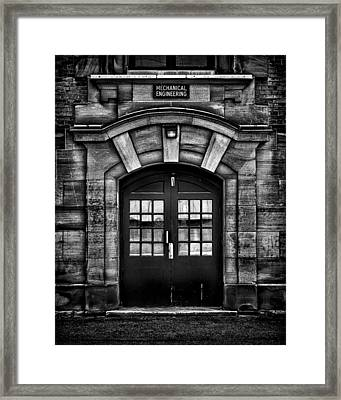 University Of Toronto Mechanical Engineering Building Framed Print