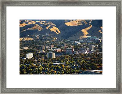 University Of Utah Campus Framed Print