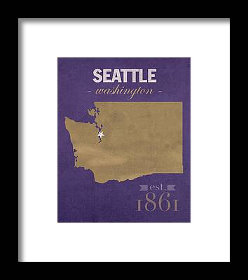 University Of Washington Framed Prints