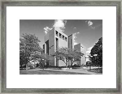 University Of Wisconsin Green Bay Cofrin Library Framed Print