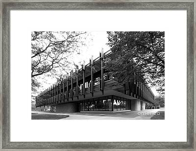 University Of Wisconsin Green Bay Rose Hall Framed Print