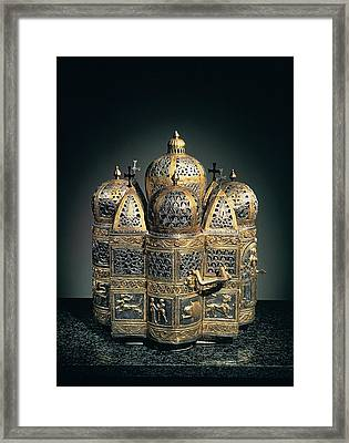 Unknown Artist, Censer, 12th Century Framed Print by Everett