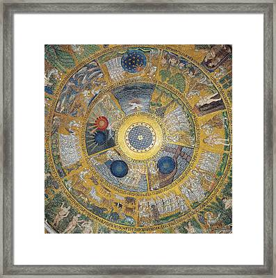 Unknown Artist, Cupola Of The Creation Framed Print by Everett