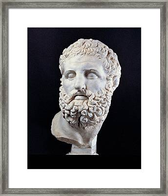 Unknown Artist, Head Of Heracles, 2nd Framed Print