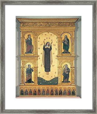 Unknown Artist, Polyptych, 15th Framed Print