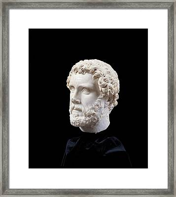 Unknown Artist, Portrait Of Antoninus Framed Print