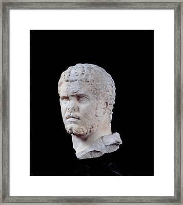 Unknown Artist, Portrait Of Caracalla Framed Print