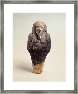 Unknown Artist, Ushabty Framed Print by Everett