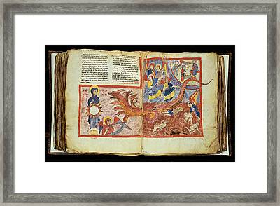 Unknown, Commentary Of The Book Framed Print by Everett
