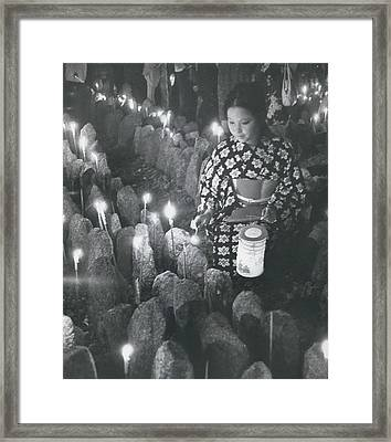 Unknown Dead Remembered Framed Print by Retro Images Archive