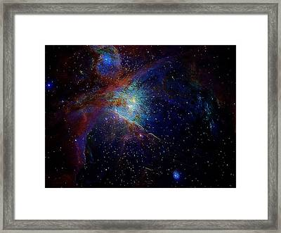 Unknown Distant Worlds Framed Print