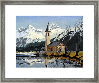 Unknown Place Of Worship Framed Print