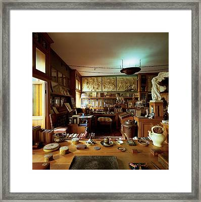 Unknown, The `officina, 1920, 20th Framed Print