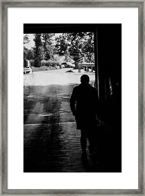 Unknown Traveler Framed Print