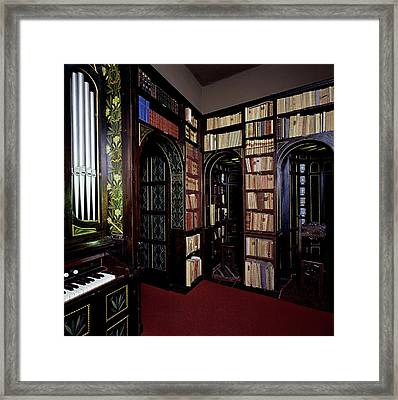 Unknown, Vittoriale Room Of The Lily Framed Print by Everett