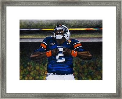 Unleash Framed Print by Lance Curry