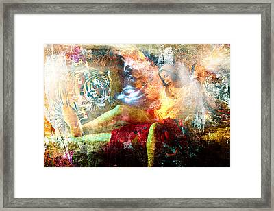 Unleashed Framed Print by Mikko Tyllinen