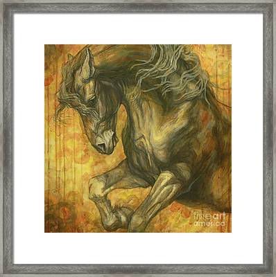 Unleashed Framed Print by Silvana Gabudean Dobre