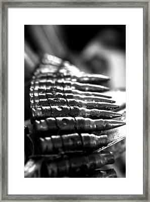 Unloaded Framed Print by Kim Lagerhem