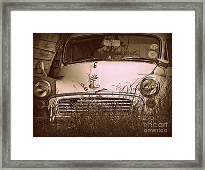 Framed Print featuring the photograph Unloved by Clare Bevan