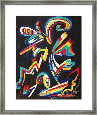 Unmanable Again Framed Print by Suzanne  Marie Leclair