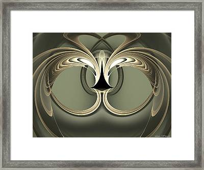 Heartscape Framed Print