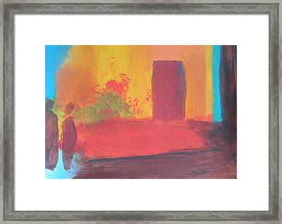 Unnamed Framed Print by Andrea Friedell