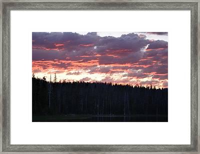 Unnamed Sunset I Framed Print by Rich Rauenzahn