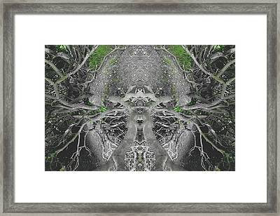 Unnatural 42 Framed Print