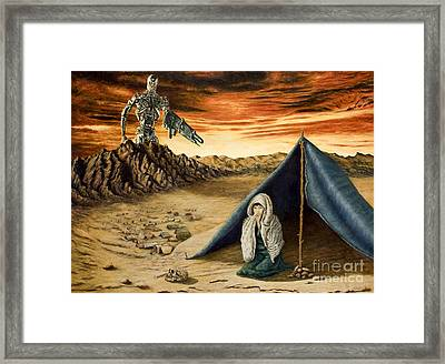 Unnatural Selection Framed Print by Gregory John