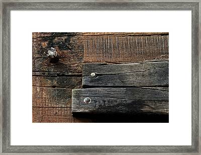 Unnecessary Repairs Framed Print