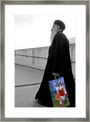 Unorthodox Shopping Bag Framed Print