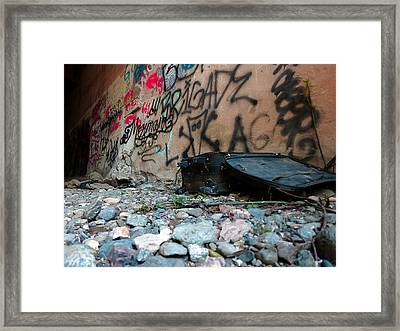 Unpacked Framed Print