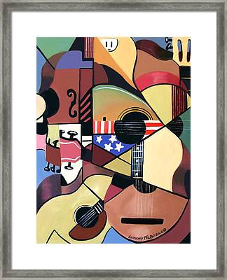 Unpluged Framed Print by Anthony Falbo