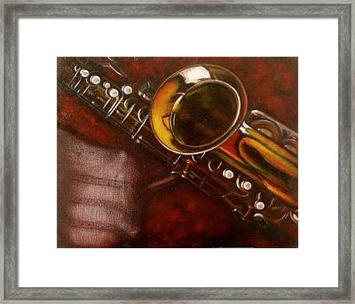 Unprotected Sax Framed Print by Sean Connolly