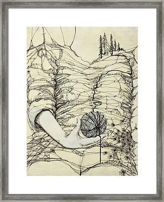Unravel #1 Framed Print
